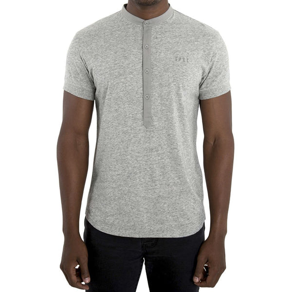 SPCC | Sergeant Pepper Henley Tee | Grey | 100% Cotton