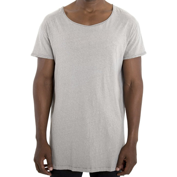 SPCC | Sergeant Pepper | 100% Cotton | Grey | Longer Length Tee