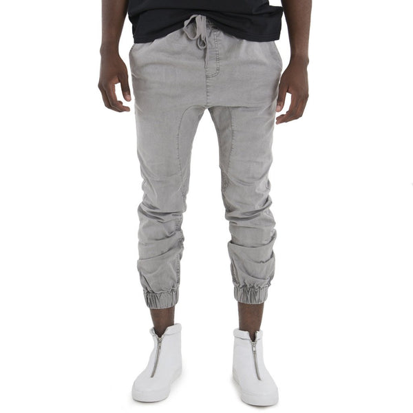 SPCC | Sergeant Pepper Joggers | Elasticated | Drop crotch | Grey