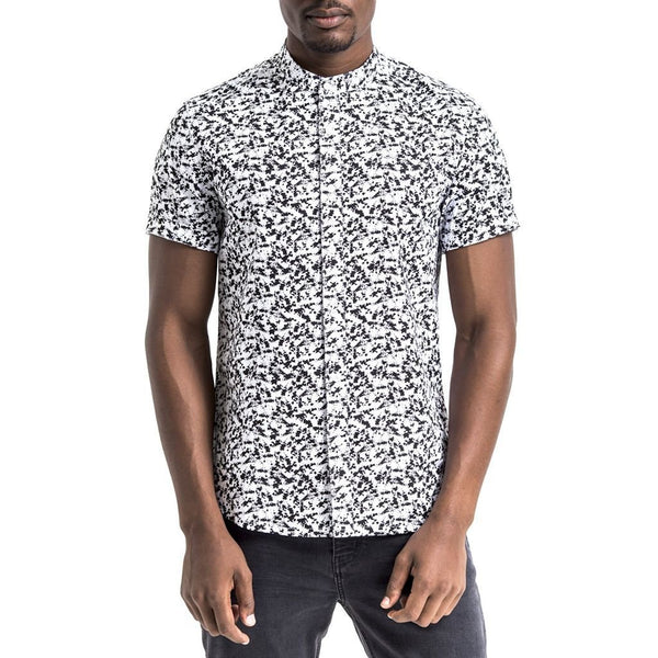 Brazza Shirt - Black/White