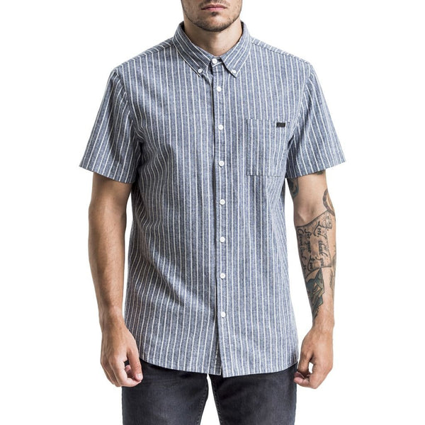 Dagmar Shirt - Blue/White