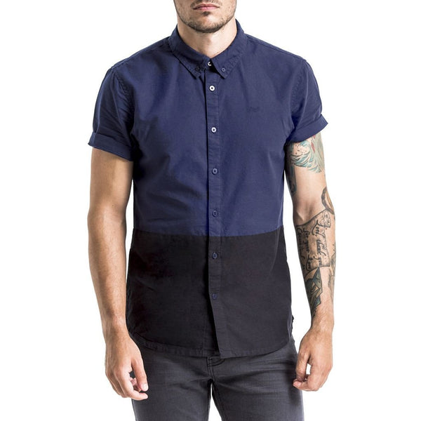 SPCC | Sergeant Pepper Shirt | Short sleeve | Two tone | Navy | Black