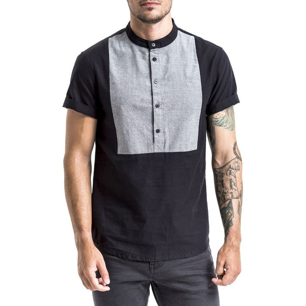 Fynn Shirt - Black/Grey
