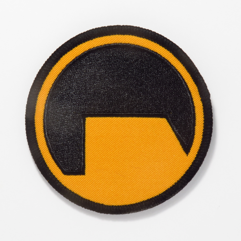 "Half Life ""Black Mesa Security"" Embroidered Patch"