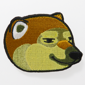 Cheemsburbger Doge Embroidered Patch