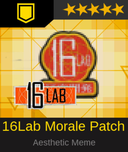 Girls' Frontline 16LAB Embroidered Patch