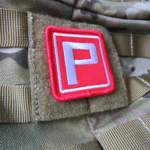 "東方 ""Power"" Embroidered Patch"
