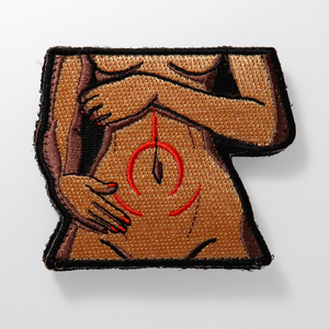 "Prisma Illya ""Kuro Tummy"" Embroidered Patch"