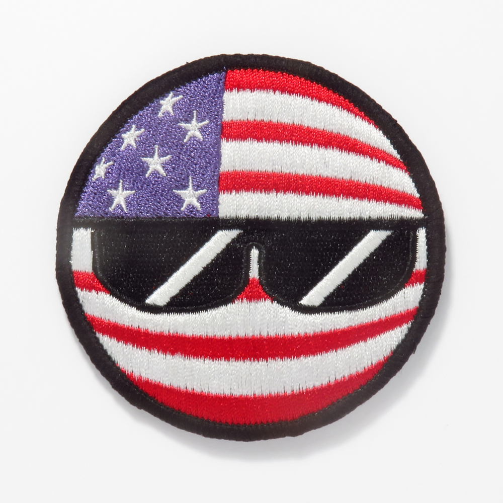 Americaball Embroidered Patch