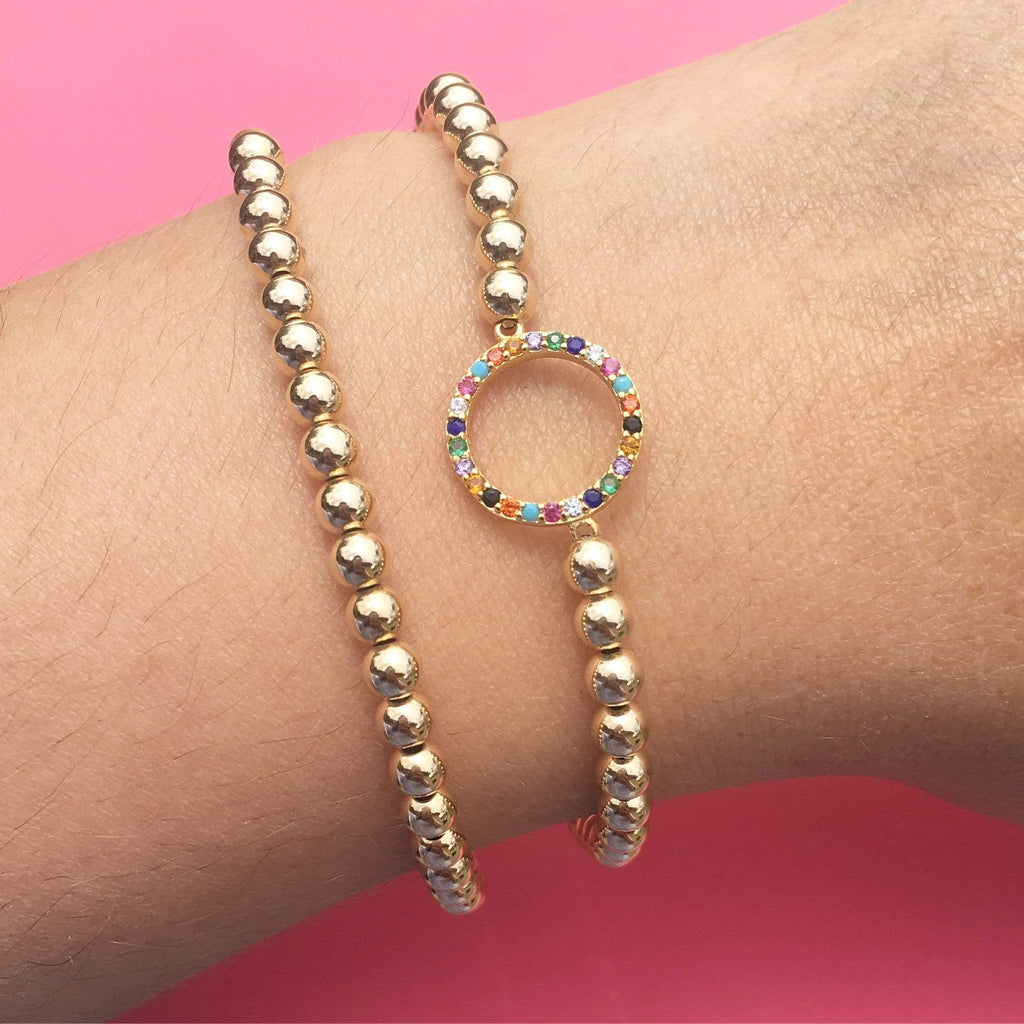 Over the Rainbow | Circle Bracelet