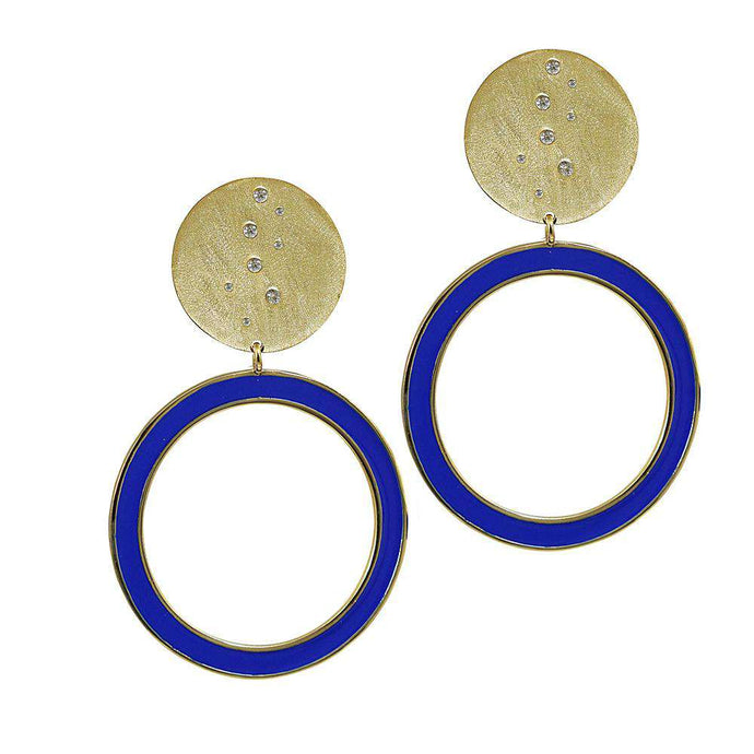 Azul Statement Earrings
