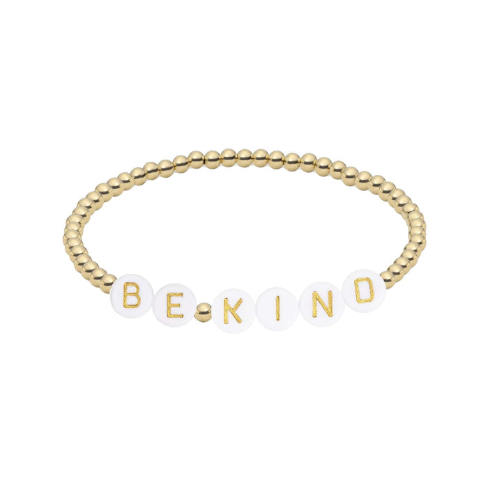 Be Kind | Initial Bracelet * 50% donated to The Innocence Project
