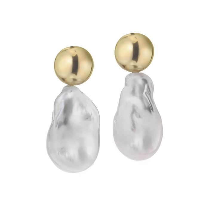 Baller | Pearl Earrings