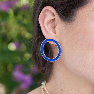 Azul | Hoop Earrings