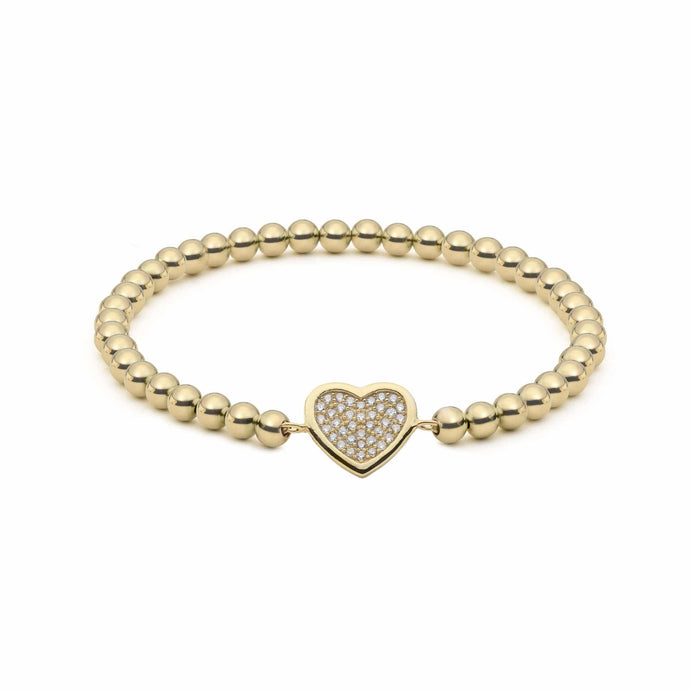 Heart of Gold | Charm Bracelet