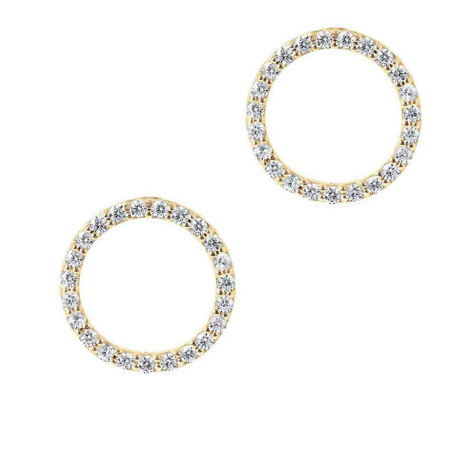 Inner Circle | Sparkle Circle Earrings
