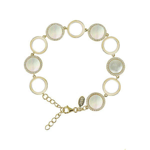Pearly Whites | Chain Bracelet