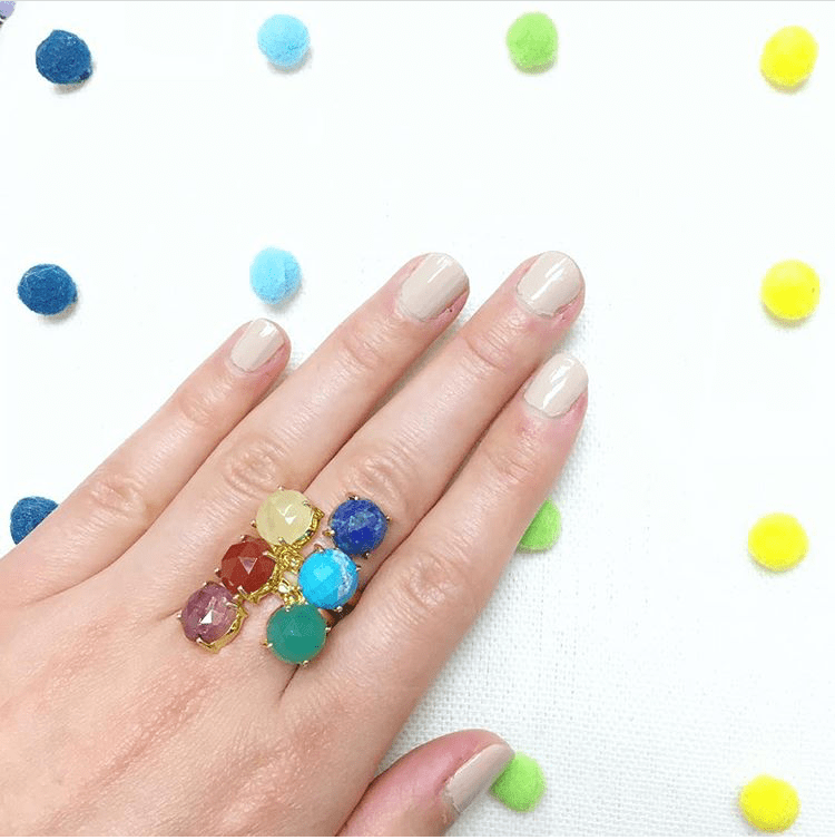 FINAL SALE- Color Crush Adjustable Ring