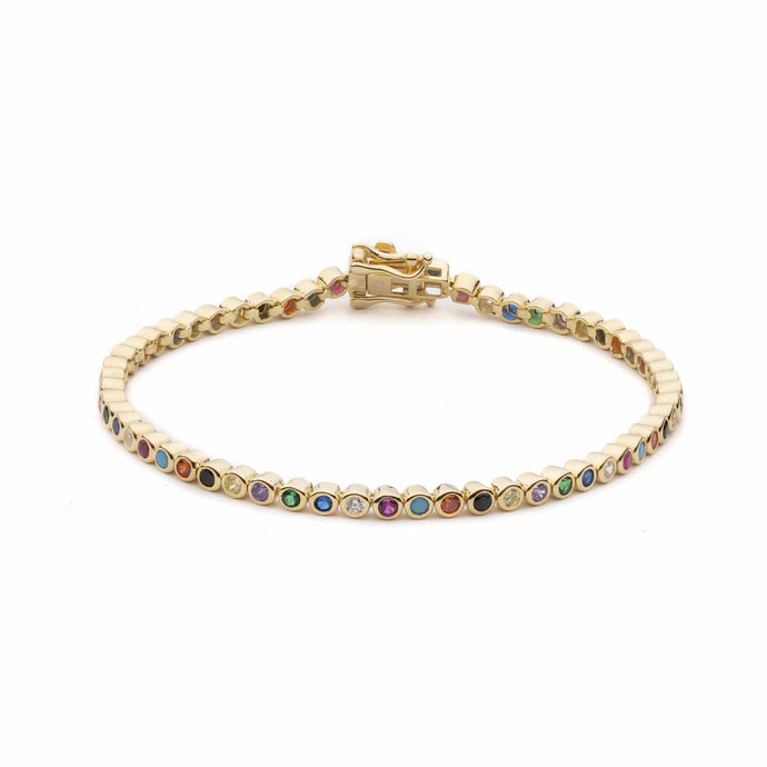 Match Point | Rainbow Tennis Bracelet