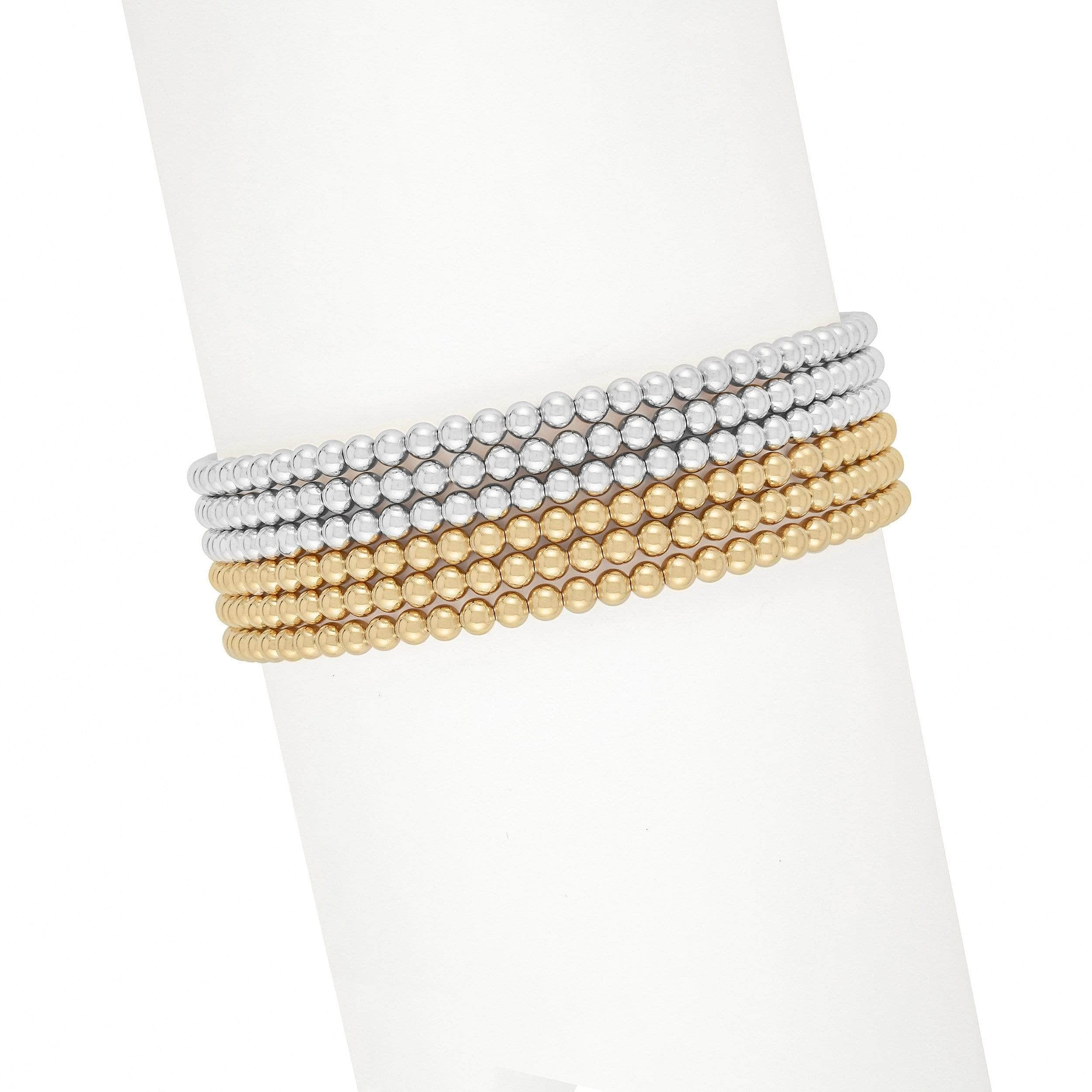 Ready, Set, Stack | Gold + Silver Bracelet Set