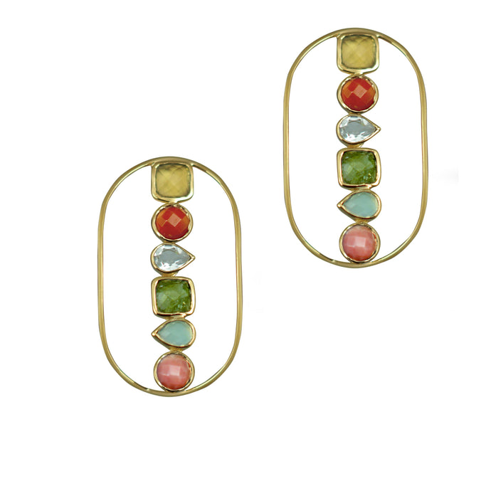 Rock Candy | Statement Earrings