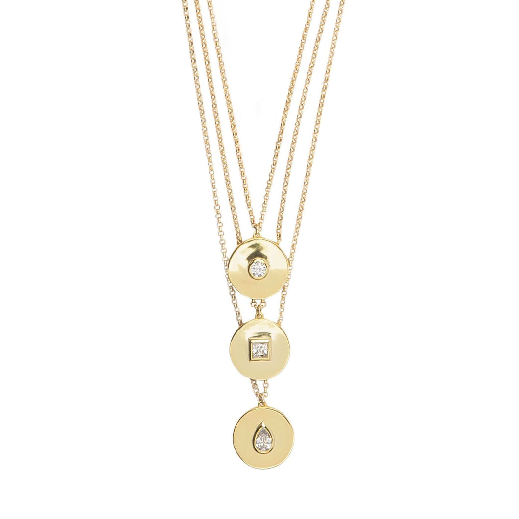 Shape Up | Triple Layer Necklace
