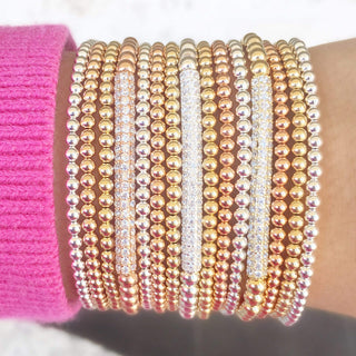 Ready, Set, Stack | Gold + Silver + Rose Gold Bracelet Set