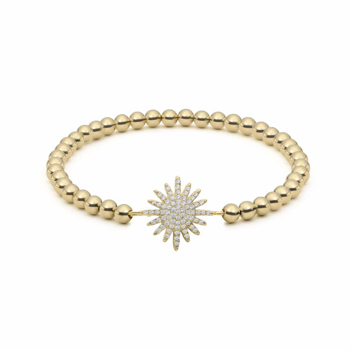 Starburst | Small Star Charm Bracelet