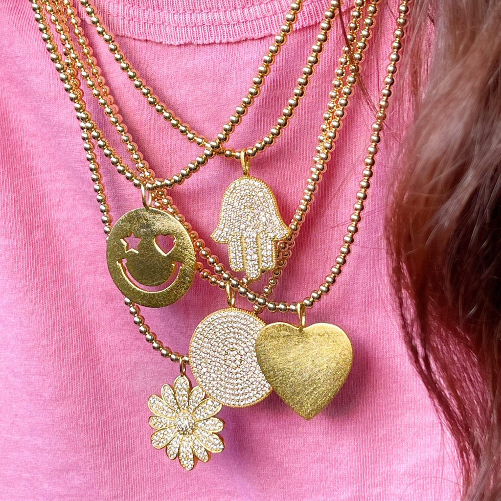 In Full Bloom | Pendant Necklace