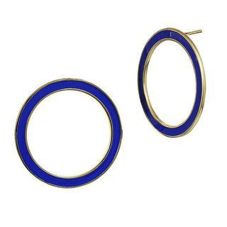 Azul Hoop Earrings