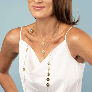 Shape Up | Long Chain Necklace