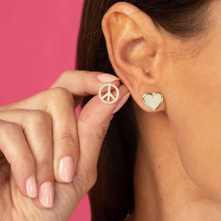 Peace + Love | Earrings