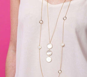 Pearly Whites | Long Necklace