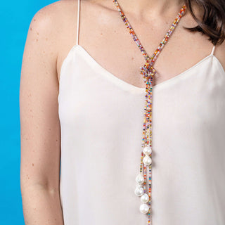 Dream In Color Lariat Necklace