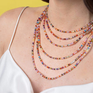 Dream In Color | Short Necklace