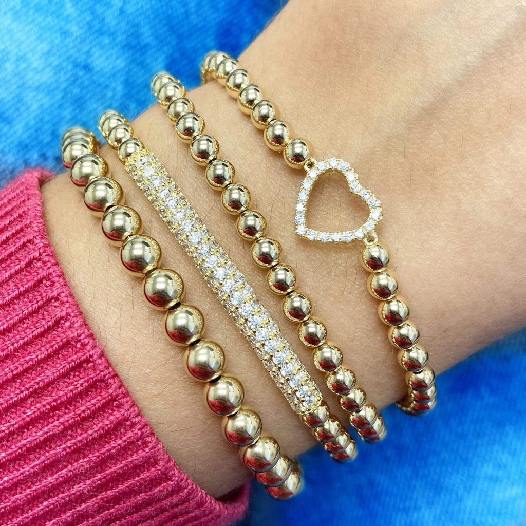 Open Your Heart | Charm Bracelet