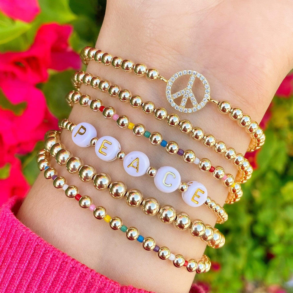 Peace of Mind | Charm Bracelet