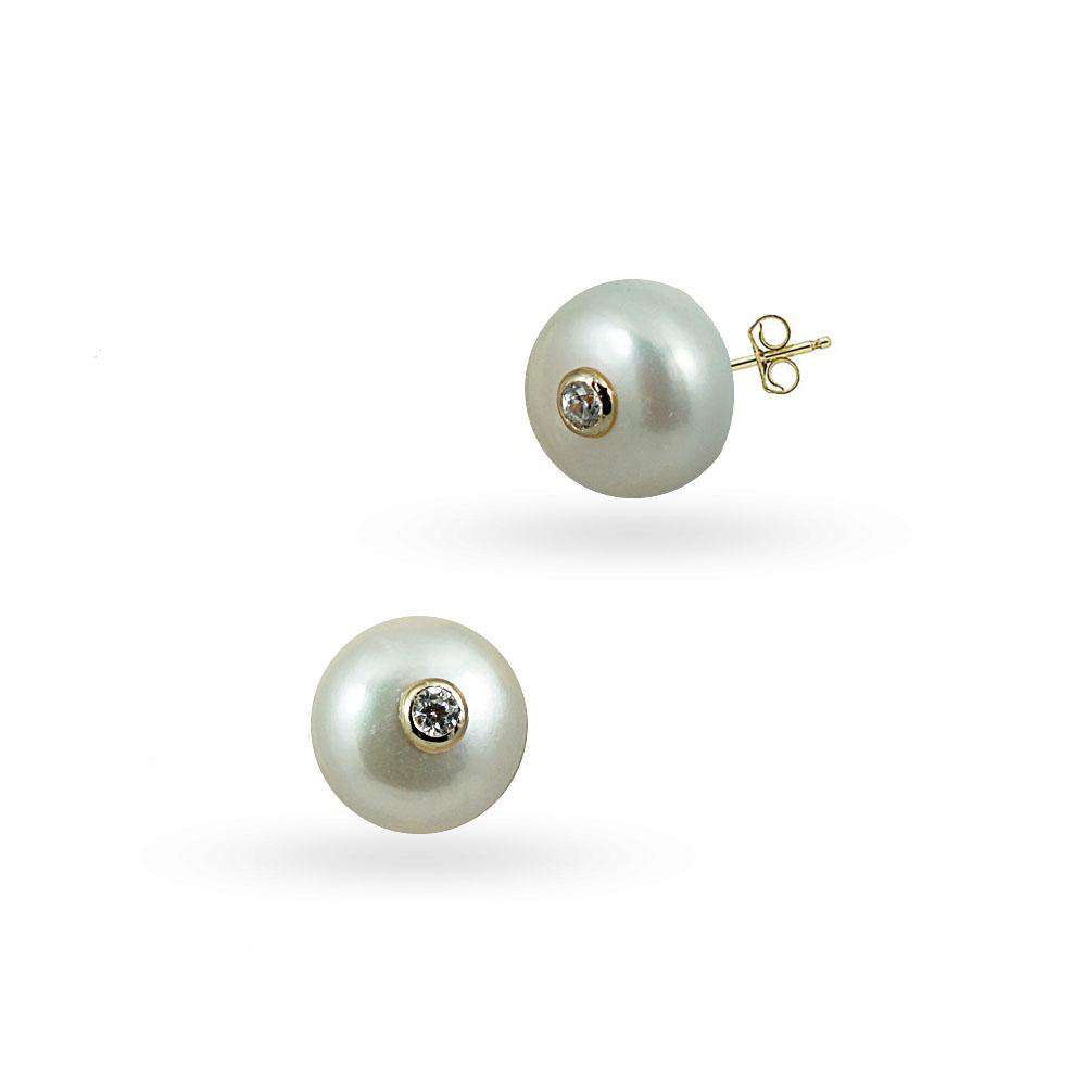 Modern Pearls | Stud Earrings
