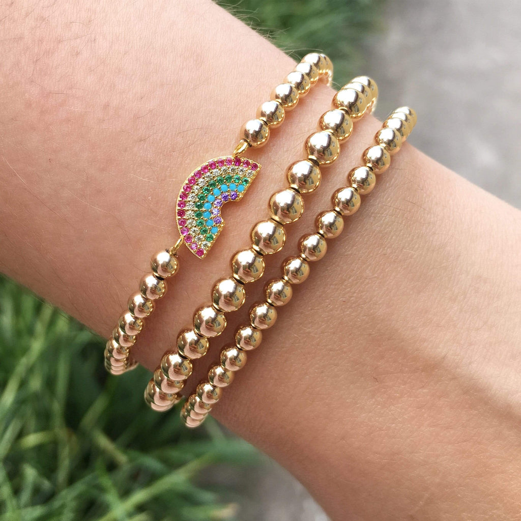 Chase the Rainbow | Charm Bracelet
