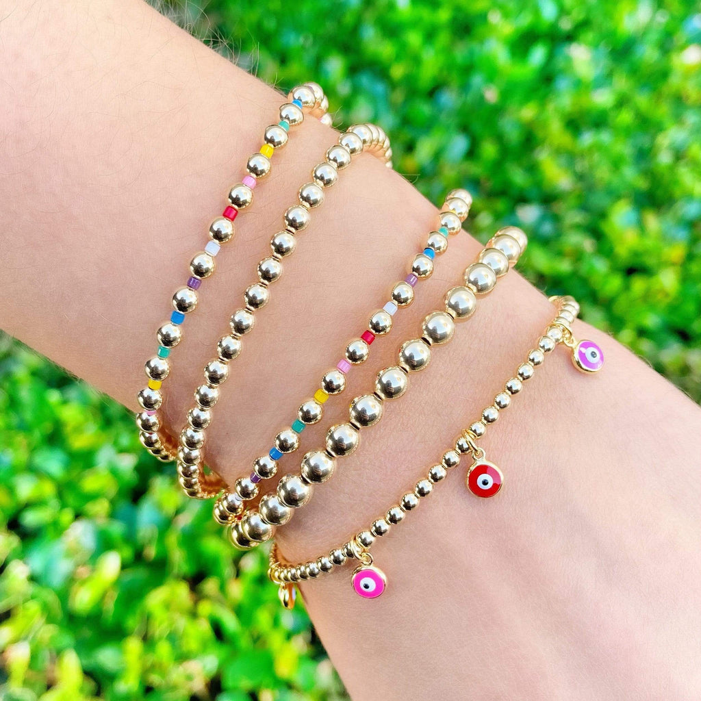 Eye Candy | LIMITED EDITION Rainbow Charm Bracelet