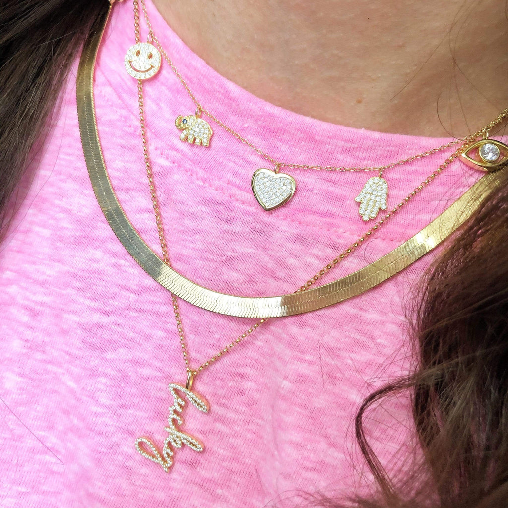 Lucky Charms | Charm Necklace