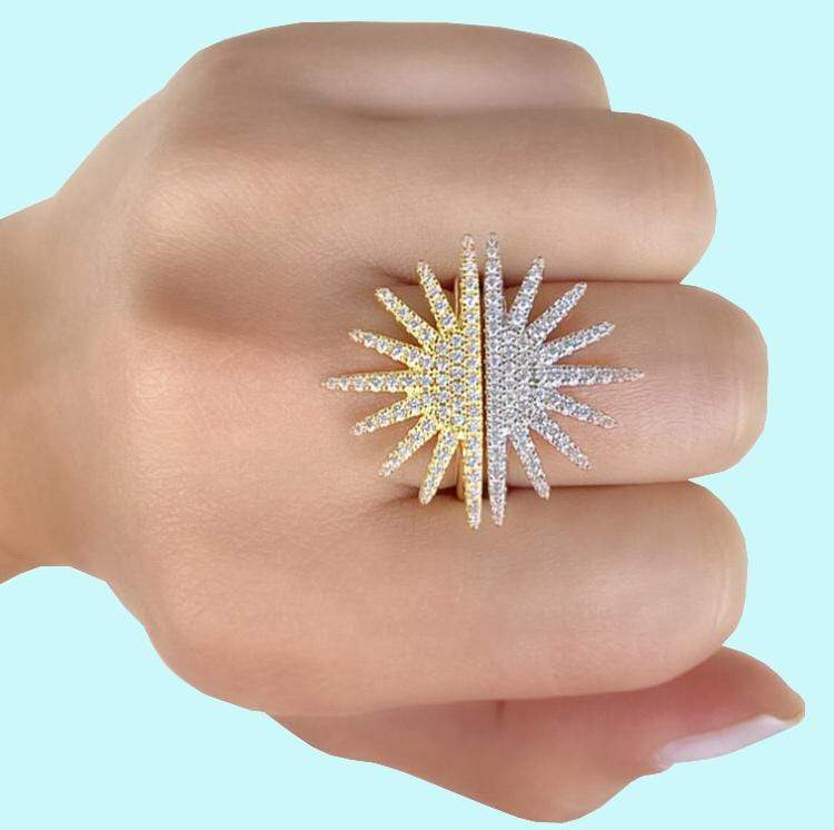 Starburst | Half Star Ring