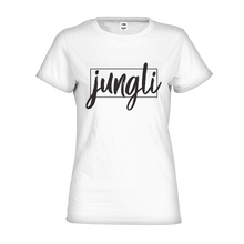 Load image into Gallery viewer, The Jungli Tee - our classic, black-and-white streetwear tee is  dedicated to those that aren't afraid to challenge the status quo and be themselves.