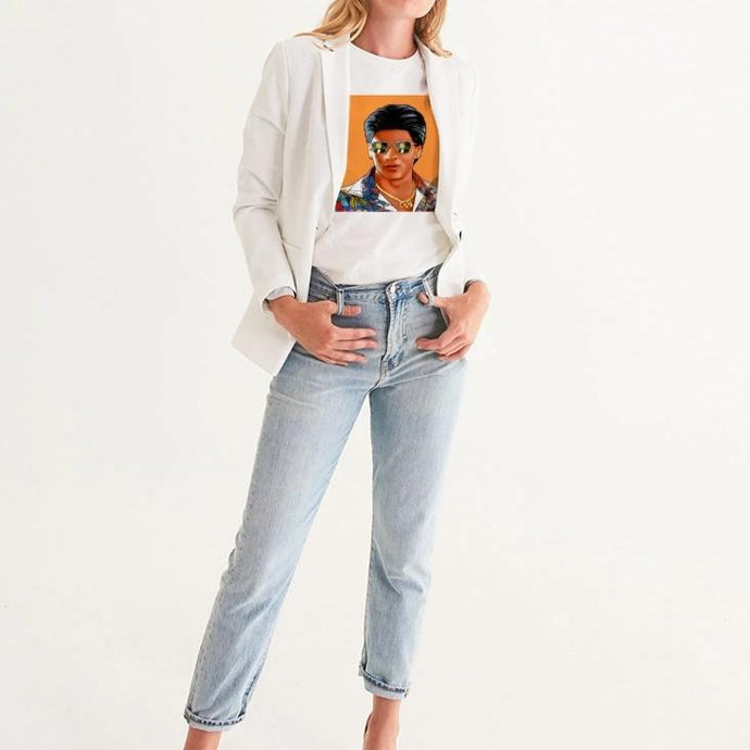 The Mashup Women's Tee - Shah Rukh & Roger
