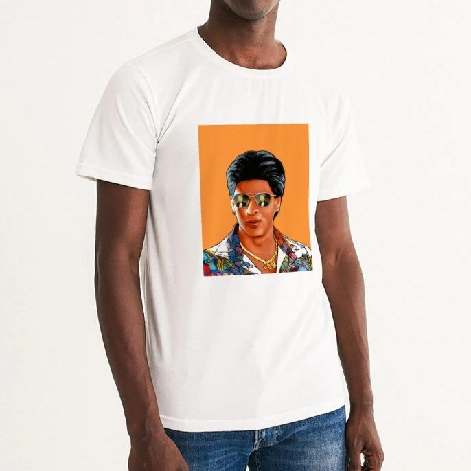 The Mashup Men's Tee - Shah Rukh & Roger