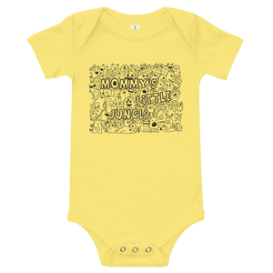 Mommy's Little Jungli Baby Onesie