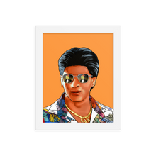 Load image into Gallery viewer, The Mashup Print - Shah Rukh & Roger