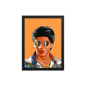 The Mashup Print - Shah Rukh & Roger