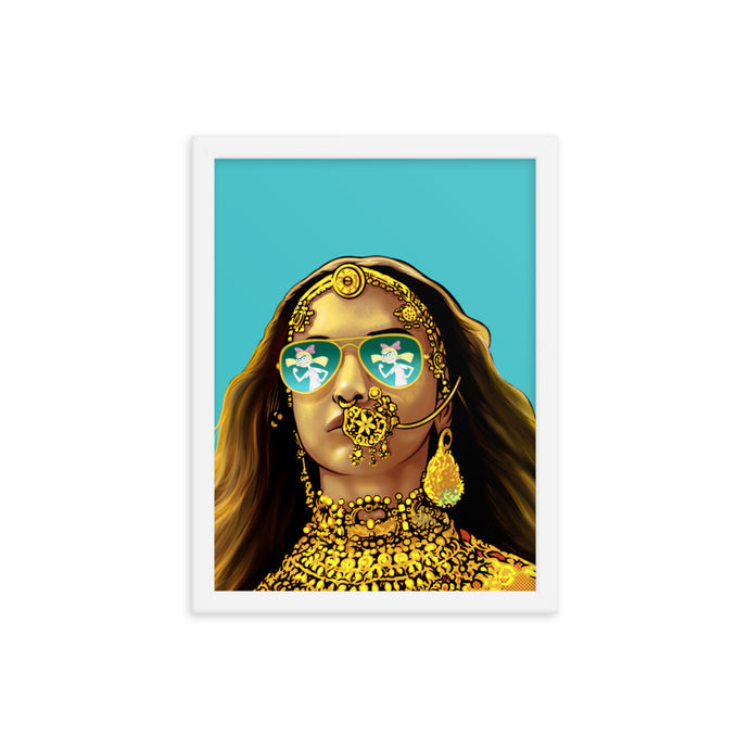The Mashup Print - Deepika & Helga