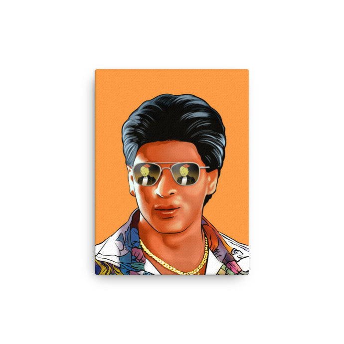 The Mashup Canvas Art - Shah Rukh & Roger